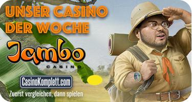 Jambo Casino - Unser Casino der Woche