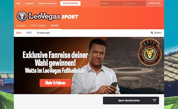 LeoVegas Sport