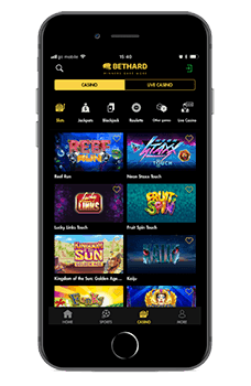 Mobilen Casino Bethard