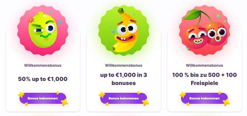 Bonus von Nomini