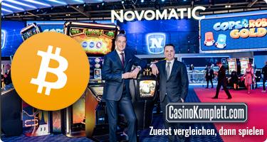 Novomatic integriert Kryptogeld