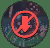 kein Download symbol, Würfel