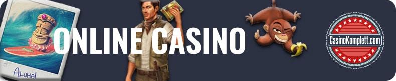 Online Casino Automatensymbole und casinokomplett.com Logo
