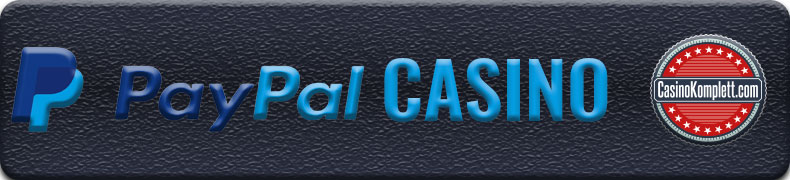 Paypal Casino Banner