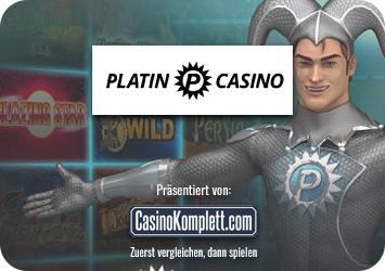 platin casino test