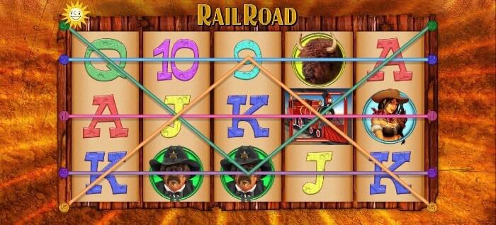 Railroad Slot im Platin Casino