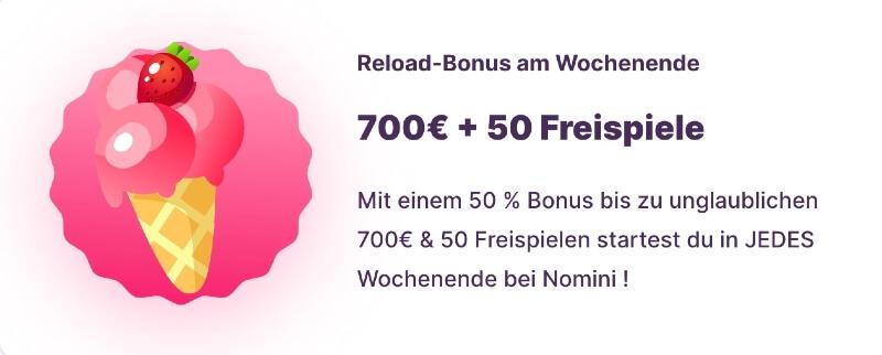 Der Reload Bonus von Nomini