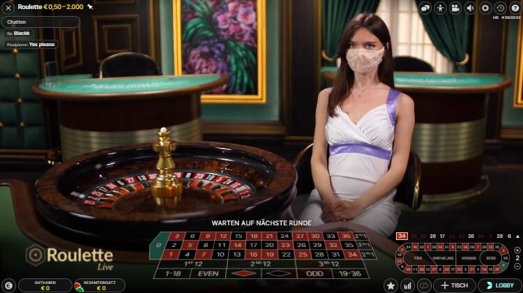 Live Roulette im Boom Casino