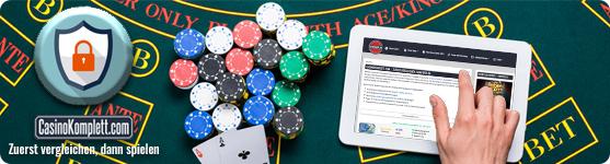 Sichere und seriöse Online casino Casinos casinokomplett.com