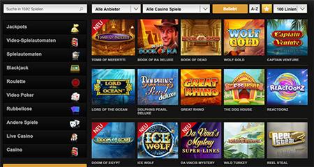 videoslos casinospiele