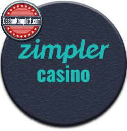 Zimple Casino and Casinokomplett logo